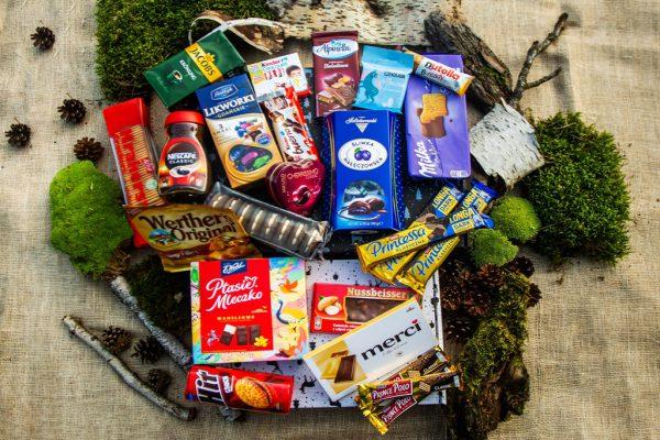 Największy świąteczny zestaw słodkości z dwoma kawami / święta 2021